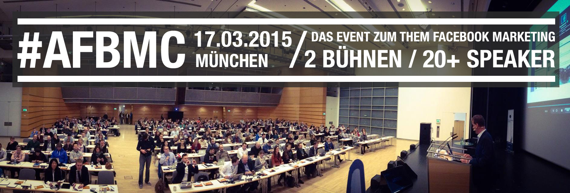 AllFacebook Marketing Conference München 2015
